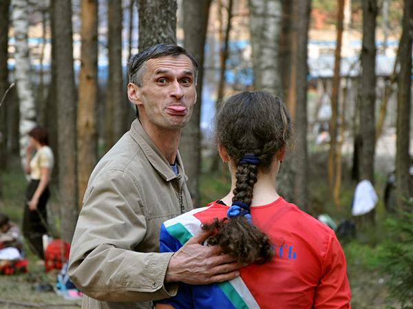 Валерий Павлович Денисов - отец и тренер Анастасии
